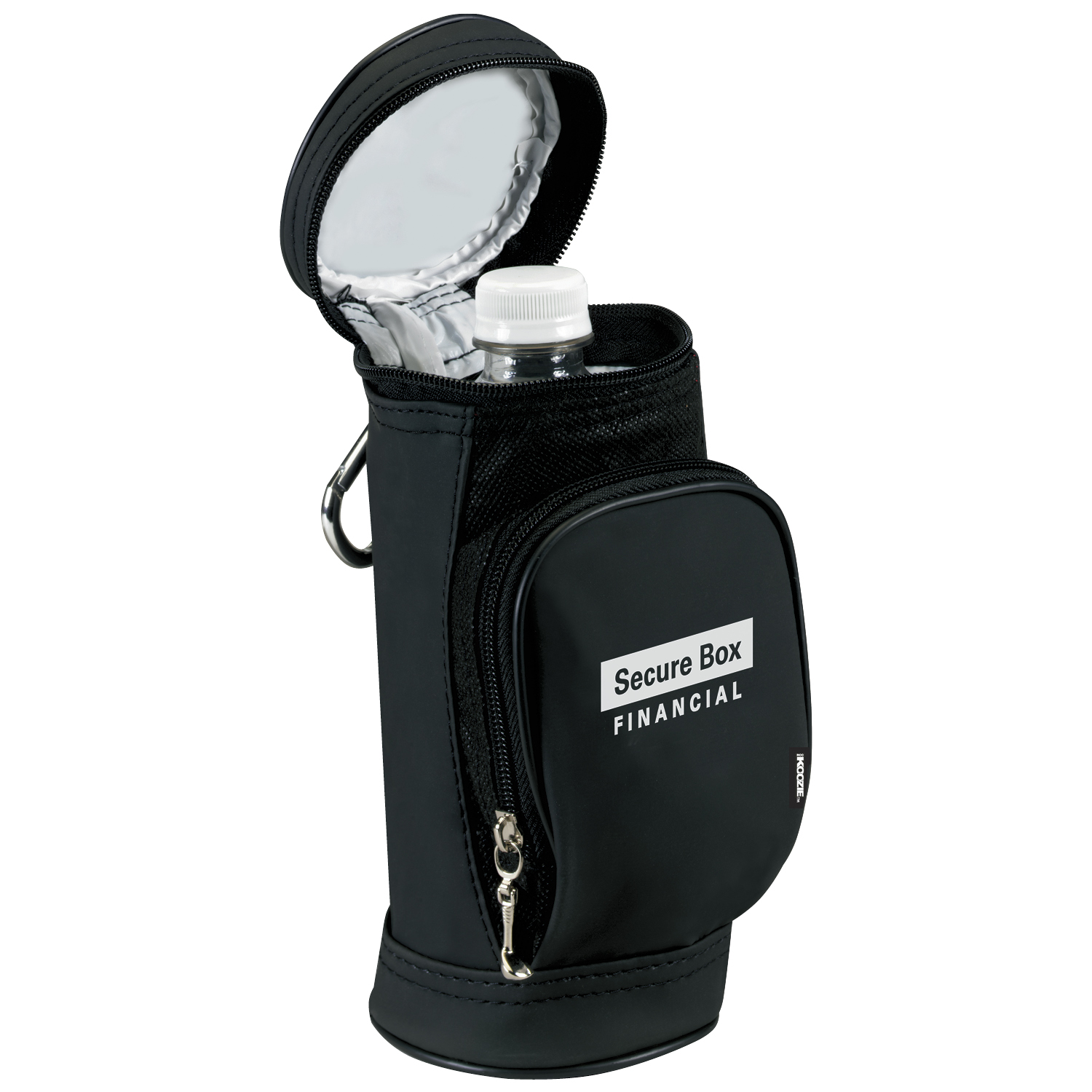 Koozie Golf Bag Water Bottle Kooler, #60730, 1 Colour Imprint