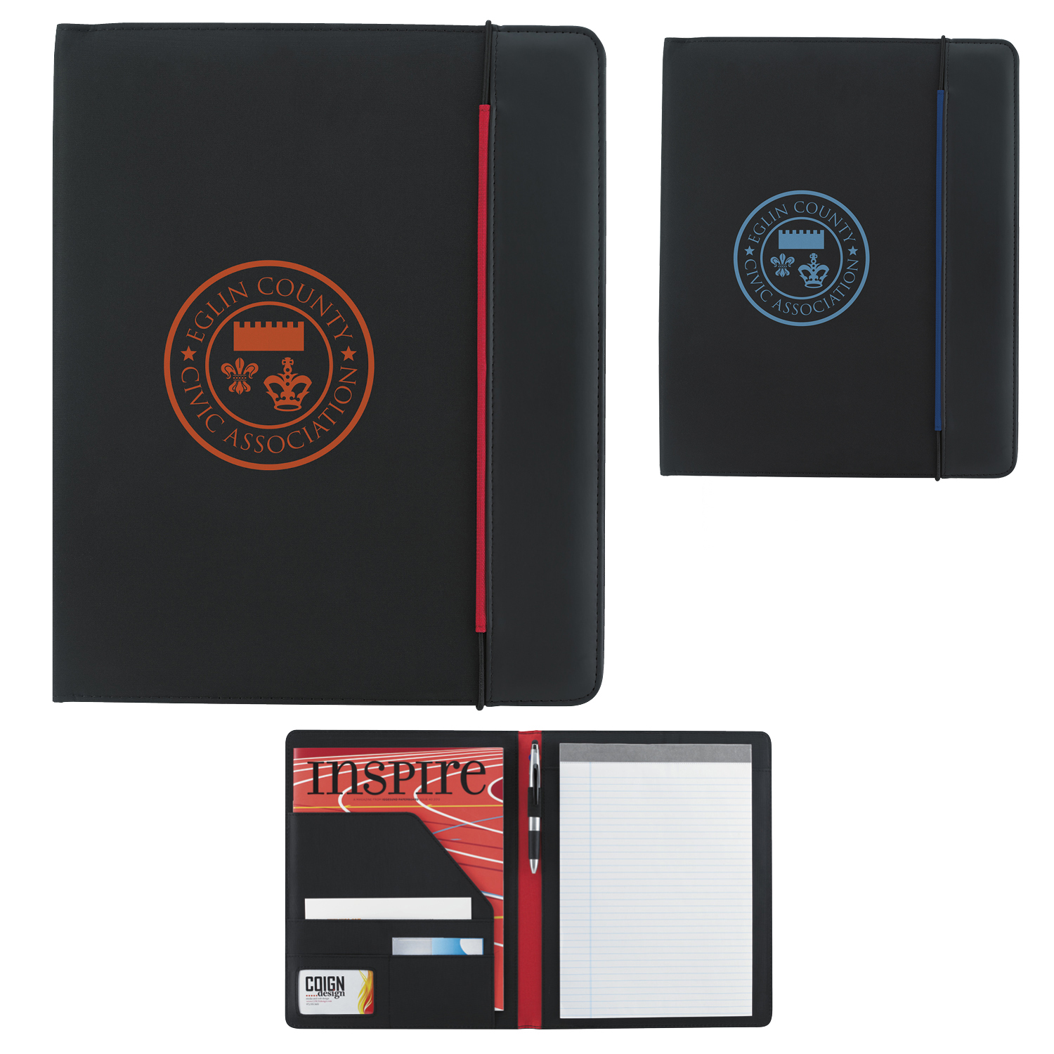 Hype Padfolio - 1 Colour Imprint, #15714