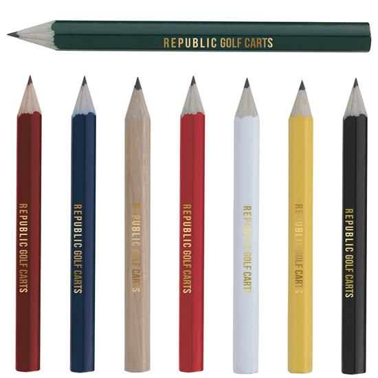 Hexagonal Golf Pencil, #62509, 1 Colour Imprint