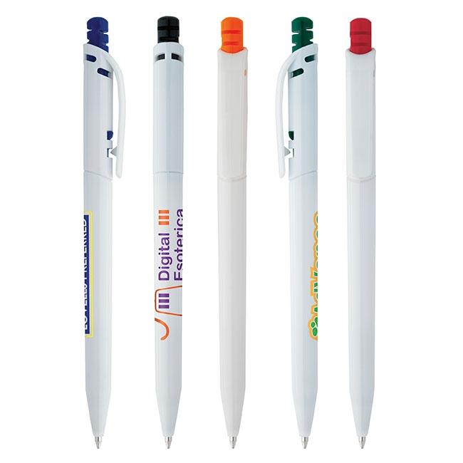 Promo Click Ballpoint Pen - 1 Colour Imprint