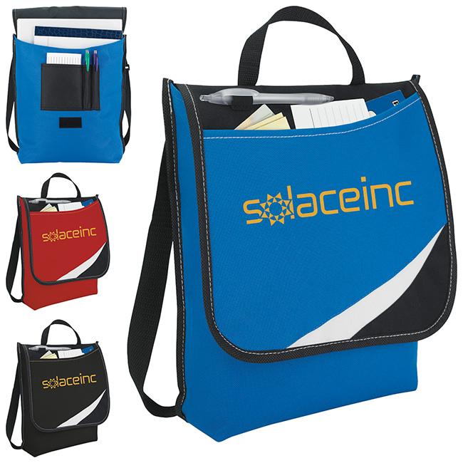 Atchison Logic Messenger Bag - 1 Colour Imprint