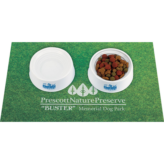 Pet Bowl w/ Measurements - 1 Colour Imprint