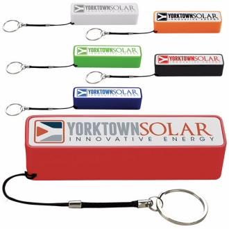 Keychain Power Bank (2200 mAh) - 1 Colour Imprint