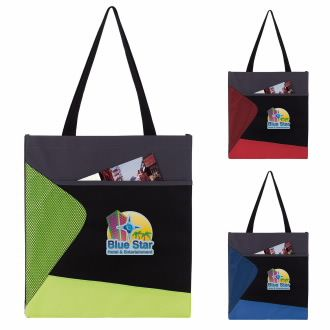 Color Pop Convention Tote - 1 Colour Imprint