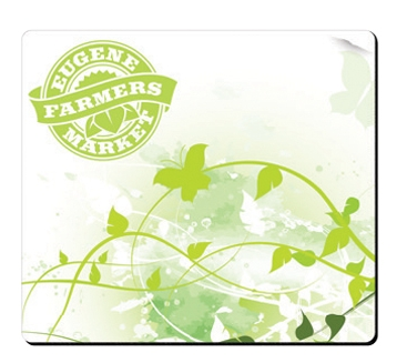 BIC Rectangle Fabric Surface Mouse Pad (7 1/2