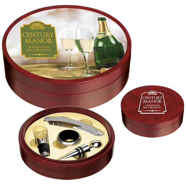 Tuscany Wine Set - 1 Colour Imprint