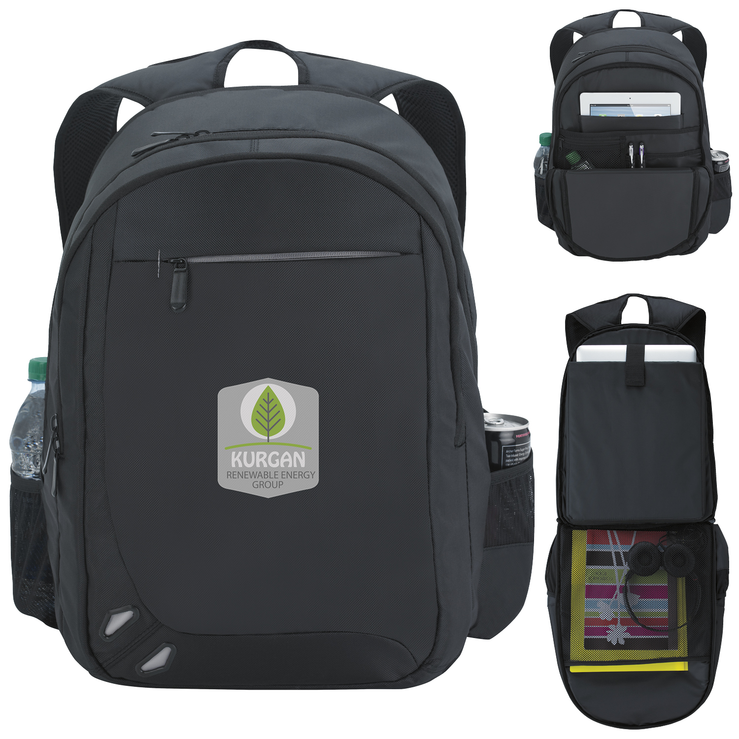 Atchison Premier Backpack - 1 Colour Imprint