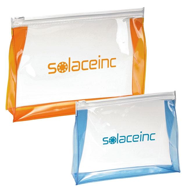 Transparent Toiletry Bag - 1 Colour Imprint