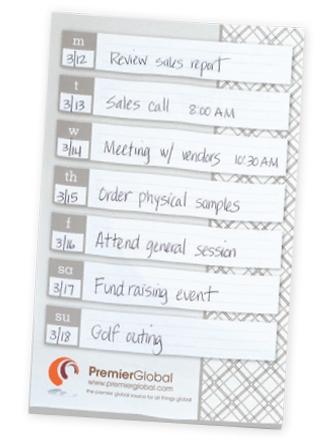 BIC Ecolutions Adhesive 50 Sheet Notepad (6