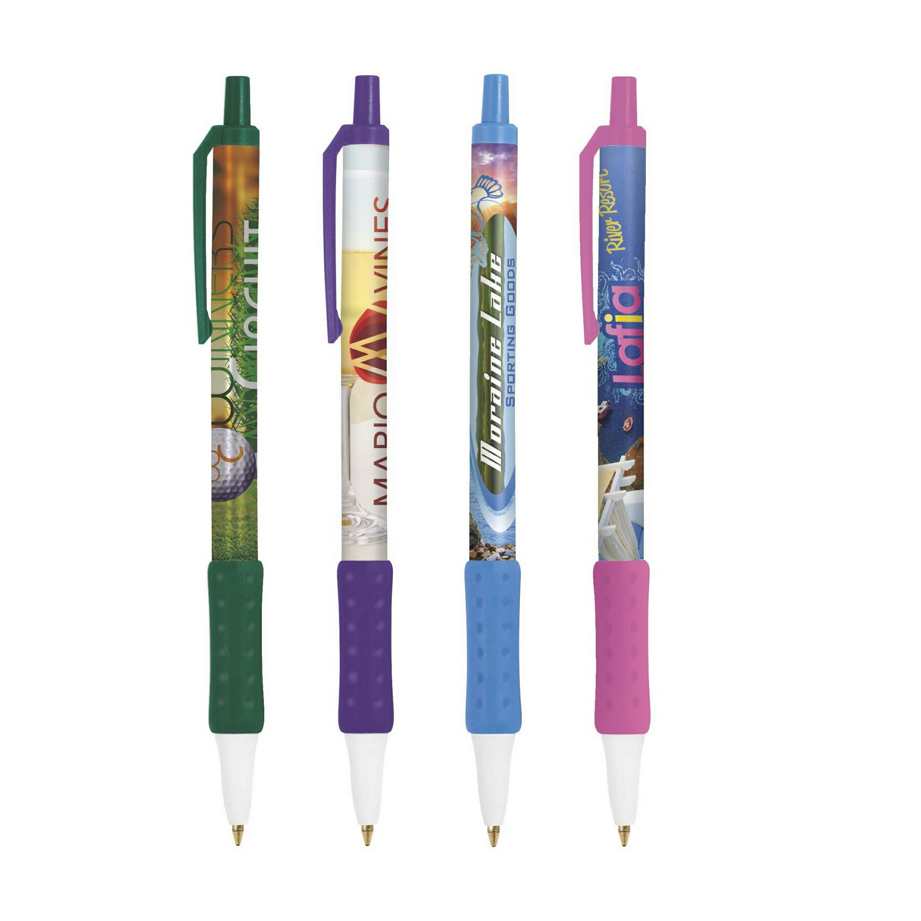 BIC Digital Clic Stic Grip Pen, #DCCSCG, Full Colour Imprint