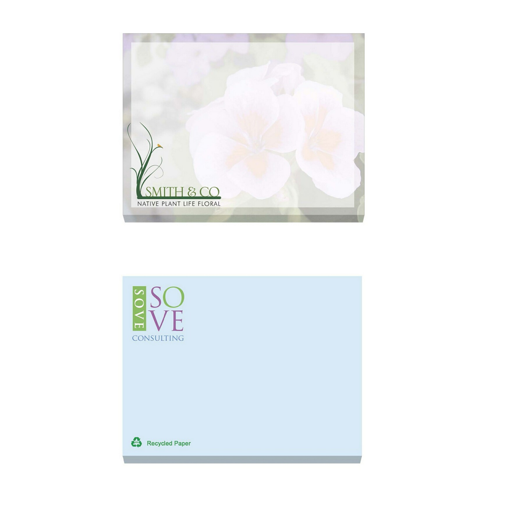 BIC Ecolutions Recycled Adhesive 100 Sheet Notepad (4