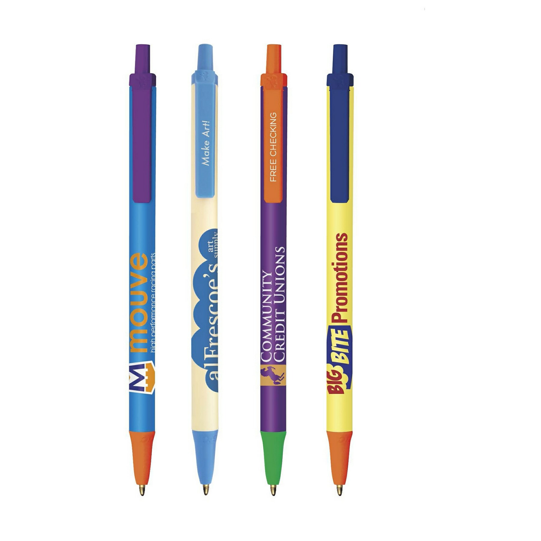 BIC Clic Stic ColorMax Pen, #CSCM, 1 Colour Imprint