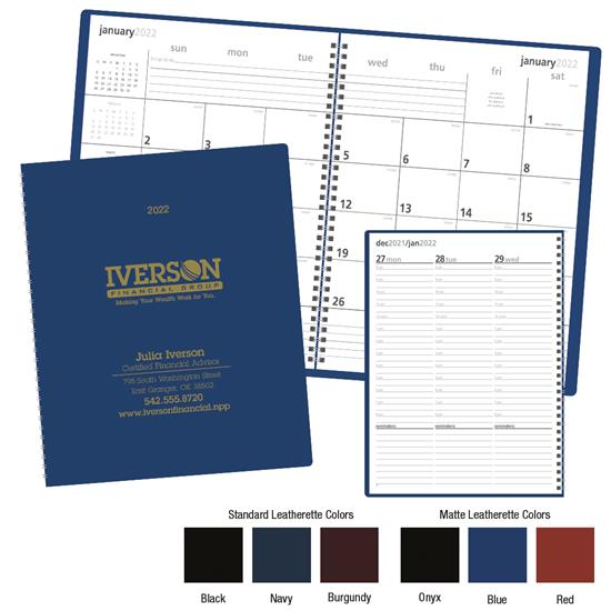 Triumph Monthly & Weekly Planner, #8105, 1 Colour Imprint