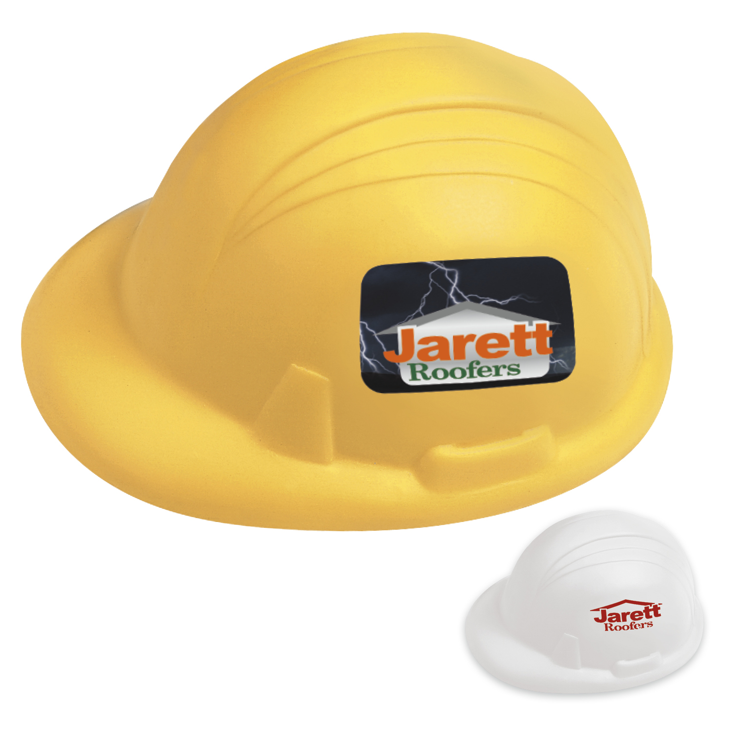 Hard Hat Stress Ball - 1 Colour Imprint