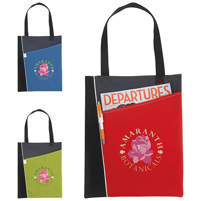 Atchison Angular Tote Bag - 1 Colour Imprint