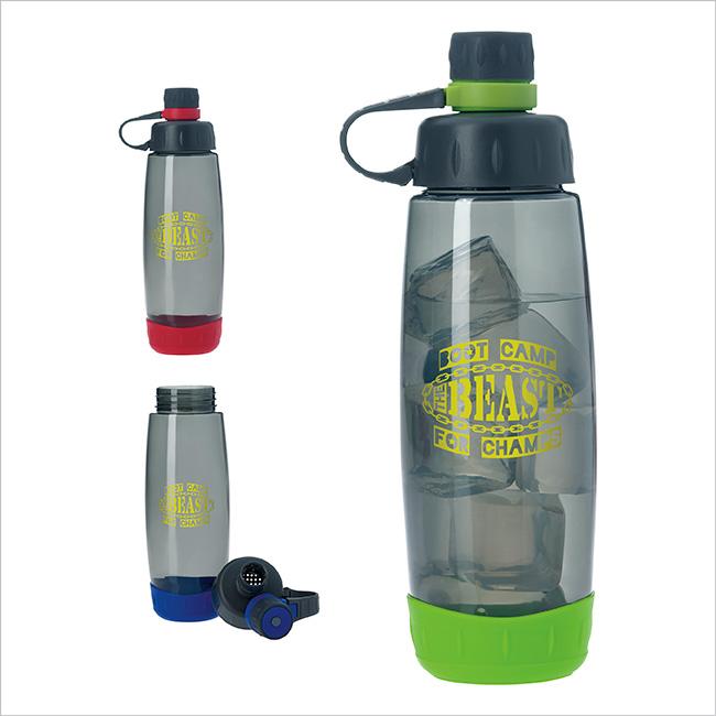 30 Oz. Adventurer Bottle - 1 Colour Imprint