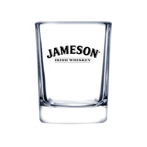 2.5 Oz. Shooter Selection Square Shot Glass (Etch)