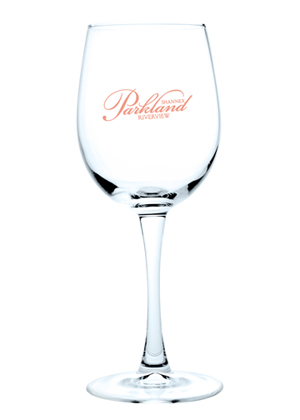 12 Oz. Wine Glasses (Etch)