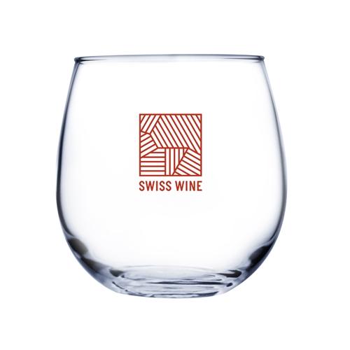 16.75 Oz. Stemless Red Wine Glass (Etch)