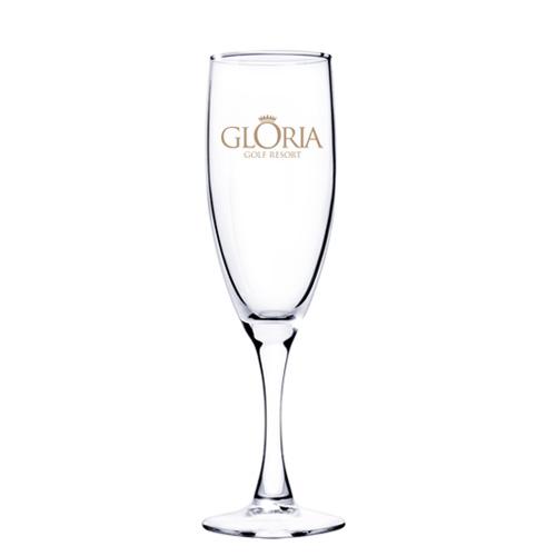 5.75 Oz. Champagne Glass w/Tapered Stem (Etch)