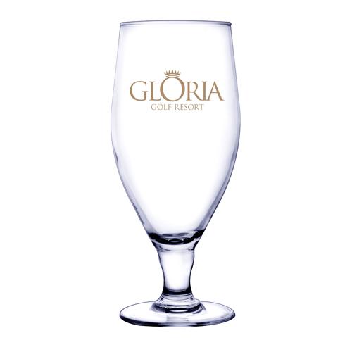 12.75 Oz. Pilsner Selection Footed Pilsner Glass (Etch)