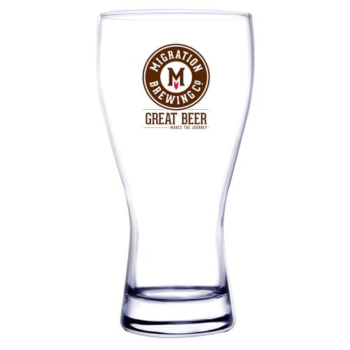 20 Oz. Pilsner Selection Pilsner Beer Glass (Etch)