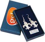 Custom Fleur De Lys Earrings