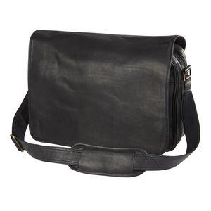 Custom Leather Laptop Messenger Bag