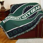 Custom Custom 2 ½-Layer Woven Throw Blanket, size XL (25 minimum)