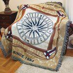 Custom Custom Woven Tapestry Throw Blanket, size L (25 minimum)