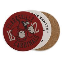 Round Absorbent Ceramic Coaster