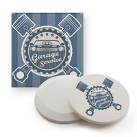 Ceramic Car Coaster In Gift Box