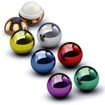 Custom Metallic Lip Balm Ball