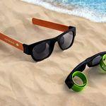 Custom Foldable Slap Sunglasses