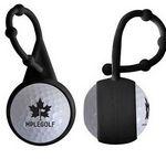 Custom Silicone Carabiner Golf Ball Lip Balm