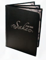 Chelsea Quad Booklet/6 View Menu Jacket w/Solid Back Panel (Holds 8 1/2x11 Inserts)