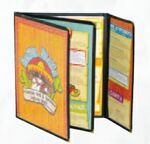 Custom Cafe Style Triple Panel Booklet w/ Half Panel Flip Out/Eight Views (8 1/2