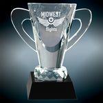 Custom Small Crystal Cup Award