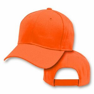 4166873b67a Big Size Blaze Orange  Safety Orange Baseball Cap 2XL - 4XL - 701 - IdeaStage  Promotional Products