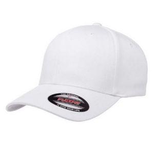 b7e98a8c63b73 Big Size White Flexfit Cap 2XL - 524 - IdeaStage Promotional Products