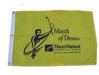 "Golf Flag, 14"" x 20"", with 3 grommets"