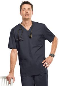 5ffd1d5a99f Unisex Core Stretch by Cherokee® Workwear V-Neck Scrub Top - 4725 -  IdeaStage Promotional Products
