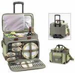 Custom Picnic Set for 4 with Cooler on Wheels