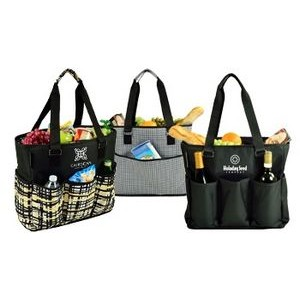 Large Cooler Tote with 6 External pockets - 30 Can