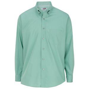 Edwards Mens Long Sleeve Lightweight Poplin Shirt