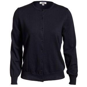47bfcbb2b831 Edwards Ladies  Jewel-Neck Cotton Cardigan Sweater - 7111 ...