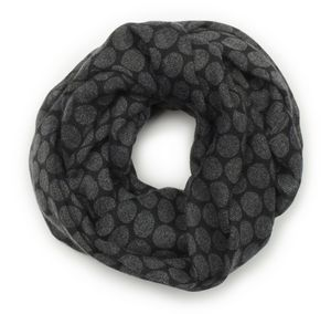 Edwards Redwood & Ross Ladies Tone-On-Tone Circles Infinity Scarf