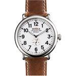 Custom Shinola The Runwell Leather Strap Watch