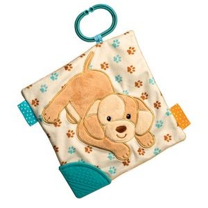 Tan Puppy Activity Blankee