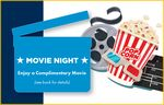 Custom Movie Ticket Card - 2 Movie Tickets